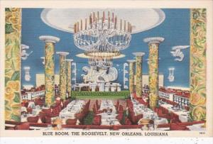 Louisiana New Orleans Roosevelt Hotel Blue Room