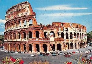 Italy Roma Il Colosseo, The Colisee, The Coloseum Cars Voitures