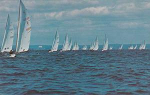 Star Sailboats in Long Island Sound, New York