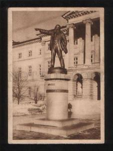 061220 RUSSIA Leningrad Lenin monument Vintage PC