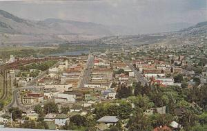 General View,  Kamloops Business Section, Vernon, B.C.,  Canada,  40-60s
