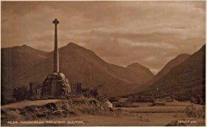 SCOTLAND~MACDONALDS MONUMENT GLENCOE~JUDGES PHOTO POSTCARD