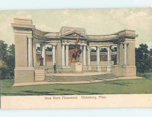 Pre-1907 MONUMENT Vicksburg Mississippi MS A2255