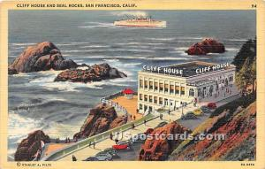 Cliff House & Seal Rocks