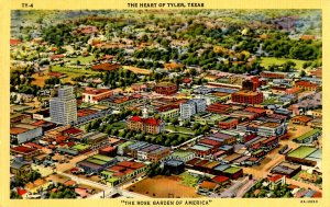 TX - Tyler. Aerial View