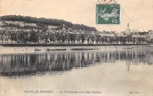 France Chateau-Thierry Les Promenades et le vieux Chateau