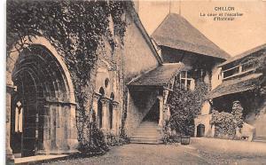 Chillon France La cour et l'escalier d'Honneur Chillon La cour et l'escalier ...
