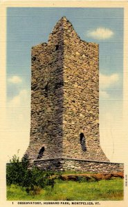 VT - Montpelier. Observatory, Hubbard Park