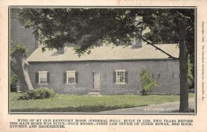 Bardstown Kentucky wing of My Old Kentucky Home antique pc Y10838