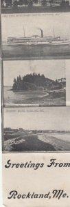 ROCKLAND , Maine, 1900-10s ; Multi-Popout-Views