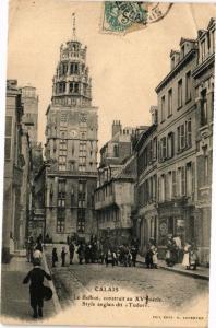 CPA CALAIS - Le Beffroi (139728)