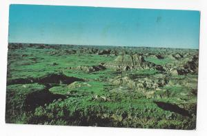ND Medora Dakota Badlands Painted Canyon Hitching Post 1973 Vintage Postcard