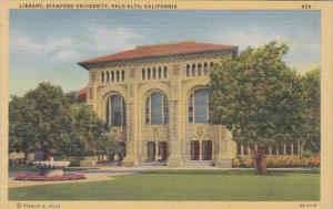 California Palo Alto Library Stanford University