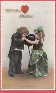 To My VALENTINE , Child Couple , THE LITTLE GALLANT ; 00-10s ; TUCK 168