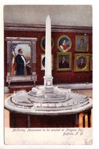 McKinley Monument to be Erected, Niagara Sq, Buffalo, New York, Glitter