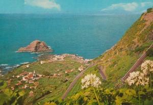 Porto Do Moniz Birds Eye Madeira Postcard