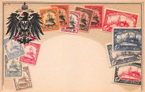German South West Africa, Classic Stamps, Early Embossed Postcard, Unused
