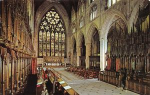Ripon Cathedral, The Chancel, Interior 1971