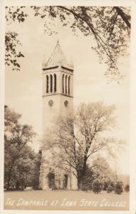 RP: AMES, Iowa, 1920-40s; The Campanile at Iowa State College