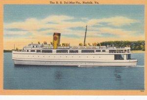 S.S. S.S. Del-Mar-Va Ferry Boat , Virginia , 30-40s