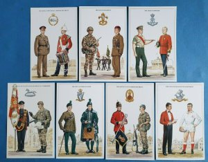 The British Army The King's Division Postcards Set of 7 by Geoff White Ltd