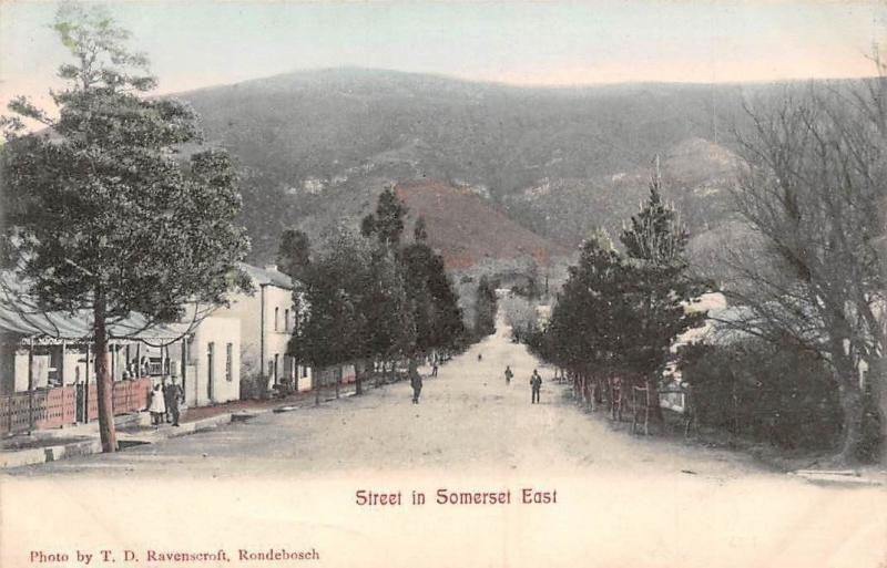 South Africa Eastern Cape, Street in Somerset East, Somerset-Oos