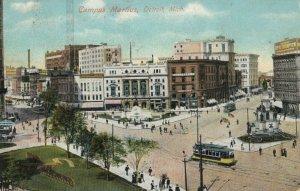 DETROIT , Michigan, 1900-1910's; Campus Martius