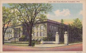 Ohio Columbus Ohio State Museum Curteich