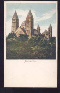 SPEYER DOM GERMANY GERMAN ANTIQUE VINTAGE POSTCARD