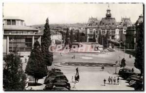 Vichy Old Postcard Place of & # City 39hotel
