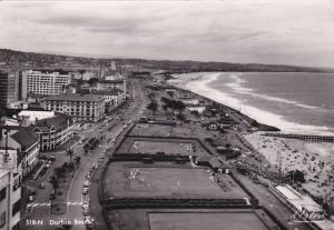 RP: Beach , DURBAN , South Africa , 1950s