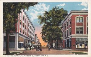 ELIZABETH CITY , North Carolina , 00-10s; Shopping District, Main Street