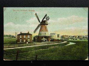 London BARKING The Old Wellington Windmill c1906 Postcard by S.G. Wittick
