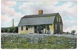 Duxbury, Mass, Myles Standish House, 1666