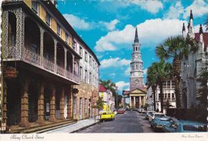 Church Street , CHARLESTON , South Carolina , 50-70s