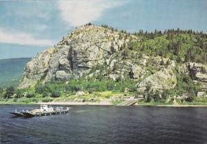 Highways 3 and 3A, Robson Ferry Across The Columbia River, CASTLEGAR-ROBSON, ...