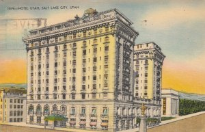 SALT LAKE CITY , Utah , 1930-40s ; Hotel Utah