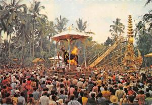 Indonesia Cremation Ceremony in Bali