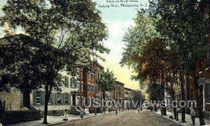 Main Street in Phillipsburg, New Jersey