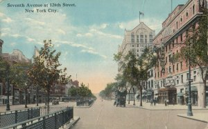 NEW YORK CITY, 1900-1910s; Seventh Avenue at 126th Street