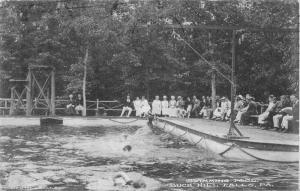 Buck Hill Falls Pennsylvania Swimming Pool Antique Postcard J46266