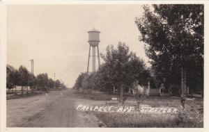 RP: Prospect Avenue & Water Tower , STETTLER , Alberta , Canada , 00-10s