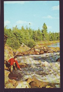 P1663 1970 used mede  photo montreal canada fishing another one for the pan
