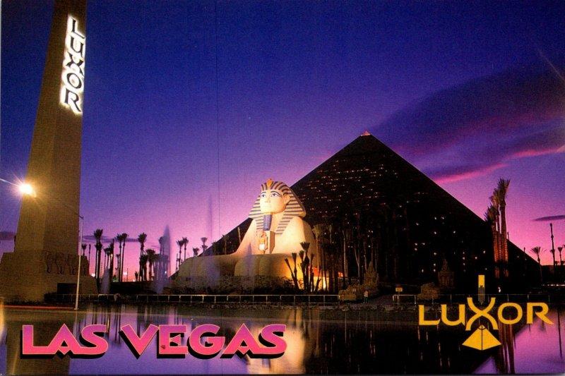 Nevada Las Vegas The Luxor Hotel and Casino