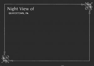 Pennsylvania Quakertown Night View 2001
