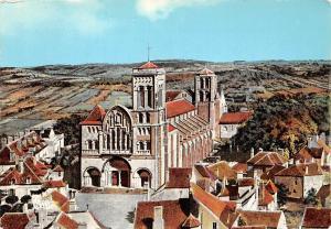 France Vezelay (Yonne) Basilique de la Madeleine (XIIe s.)