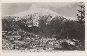 RP, OCEAN FALLS , British Columbia, Canada, 20s-40s; View of Mount Baldy
