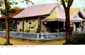 Ocean Grove, New Jersey - A view of the Tent Dwellings - c1905