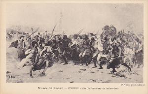 France Rouen Musee de Rouen Cormon Les Vainqueurs de Salamines