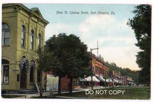 Main St, Port Allegany PA